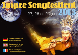 Flyer Impro Songfestival 2