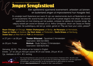 Flyer Impro Songfestival 2 - achter
