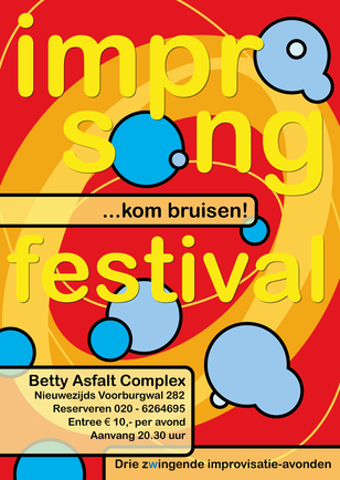 Poster Impro Songfestival