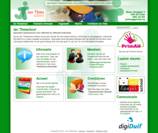 Website Jan Thiesschool